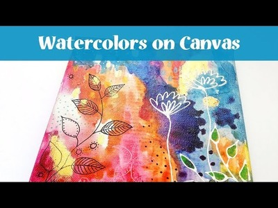 Mixed Media Canvas Tutorial