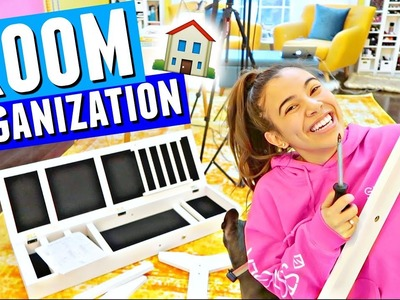 NEW ROOM STORAGE & ORGANIZATION!! ???????? Building A Huge Jewelry Organizer!