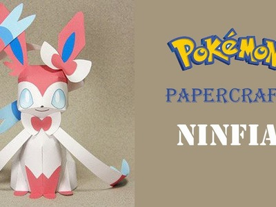 Pokemon papercraft: How To Make Ninfia Pokemon From papercraft 99