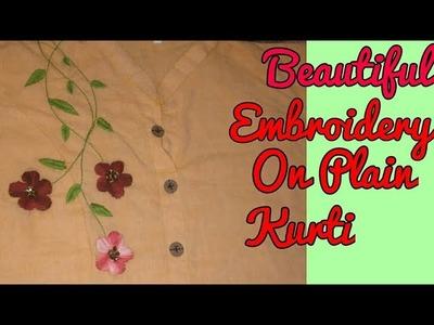 Easy Blouse Neck Design Zardosi Work Hand Embroidery Blouse