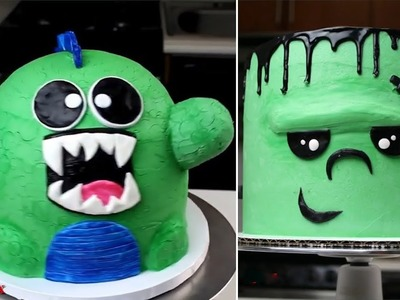 Top BEST HALLOWEEN Cake Decorating Ideas - The most amazing cake decorating