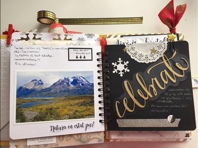 Travel Journal Tutorial and Flipthrough - Patagonia trip