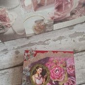 Wooden decoupage box, original gift, gift for woman, gold, handmade, 2017, gift, unique, wooden box.
