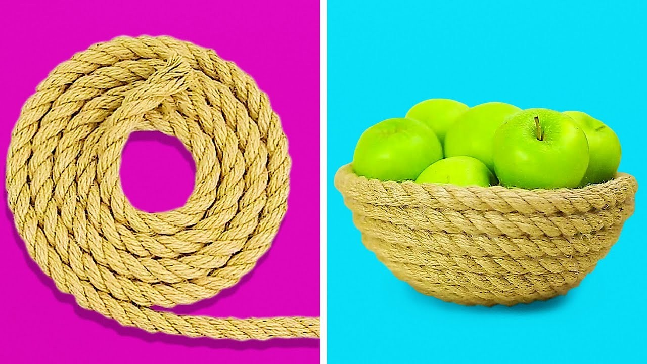15 CUTE DIY BASKETS TO DECORATE YOUR APARTMENT