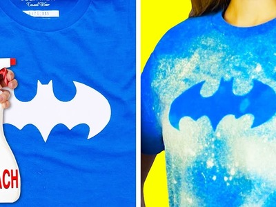 18 COOL IDEAS TO DECORATE YOUR BORING T-SHIRTS