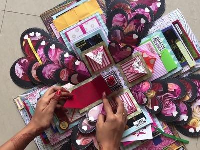 5 layer Explosion box for best friend || Rashi Jain || Handm3ade cards by Rashi Jain
