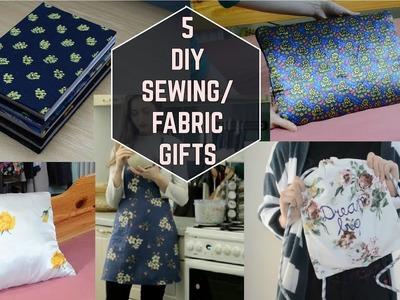 5x DIY Sewing-Fabric Gifts. 5x DIY šité-látkové darčeky (SK, EN sub)