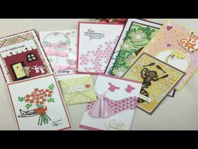 Alina Craft New Products Release and Card Show February 2018