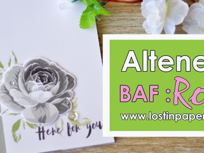 Altenew Build A Flower Rose - Release!