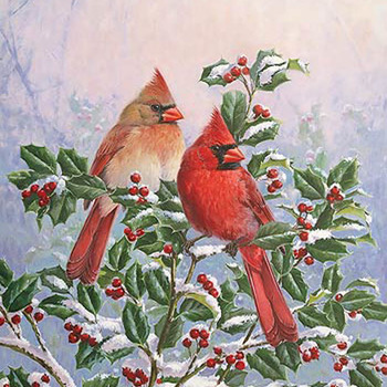 Cardinal Pair Cross Stitch Pattern***LOOK*** ***(INSTANT DOWNLOAD)***