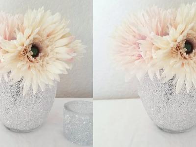 DIY| BLING WEDDING VASE DECOR 2018