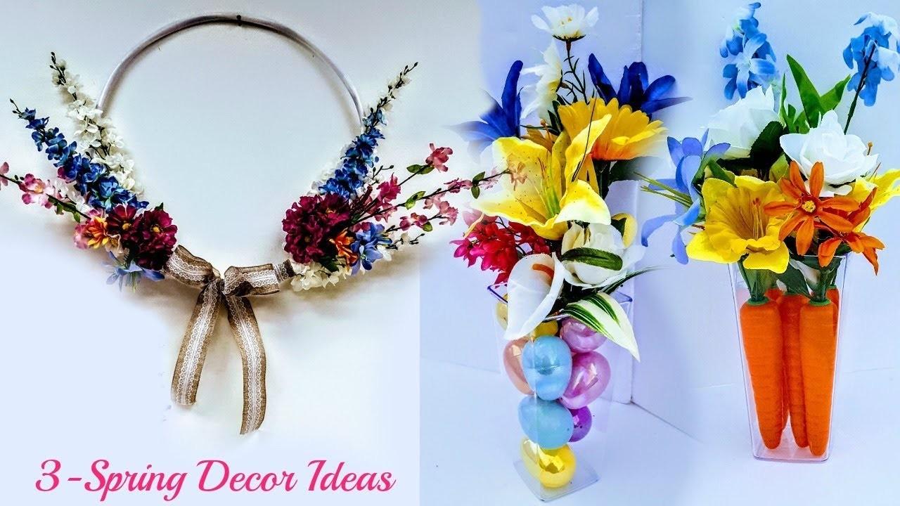 Diy Dollar Tree 3 Spring Decor Ideas Easy Fast Beautiful Spring