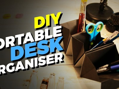 DIY Portable Desk Organizer | MadStuffWithRob