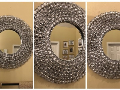Dollar Tree DIY - ???? Glam Wall Mirror ????