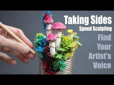 Finding Your Voice | Speed Sculpting Contemporary Art & Sculpture