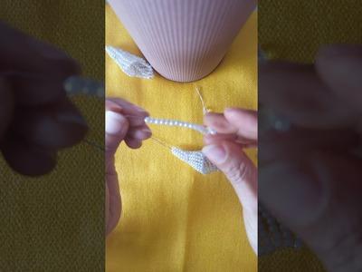Flor de Cala con perlas By Rosen