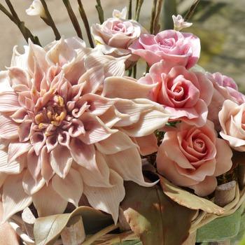 Floral Porcelain Art
