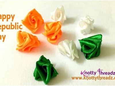 Happy Republic Day | Saffron, White, Green Theme Necklace | Colours of India | www.knottythreadz.com