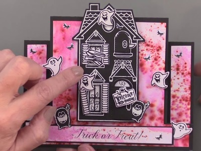 Holiday Mansion Accessory Stamps & Dies - Paper Wishes Weekly Webisodes