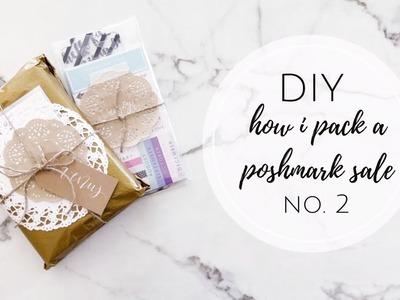 How I Pack A Poshmark Sale No.2