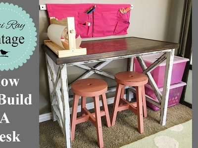 How To Build A Desk | Farmhouse Style Desk