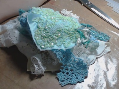 How to Create Shabby Chic Embellishments with Snippets PT 1