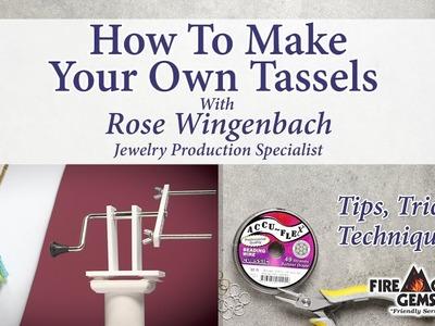 How to Create Tassels Using the Beadalon® Tassel Maker