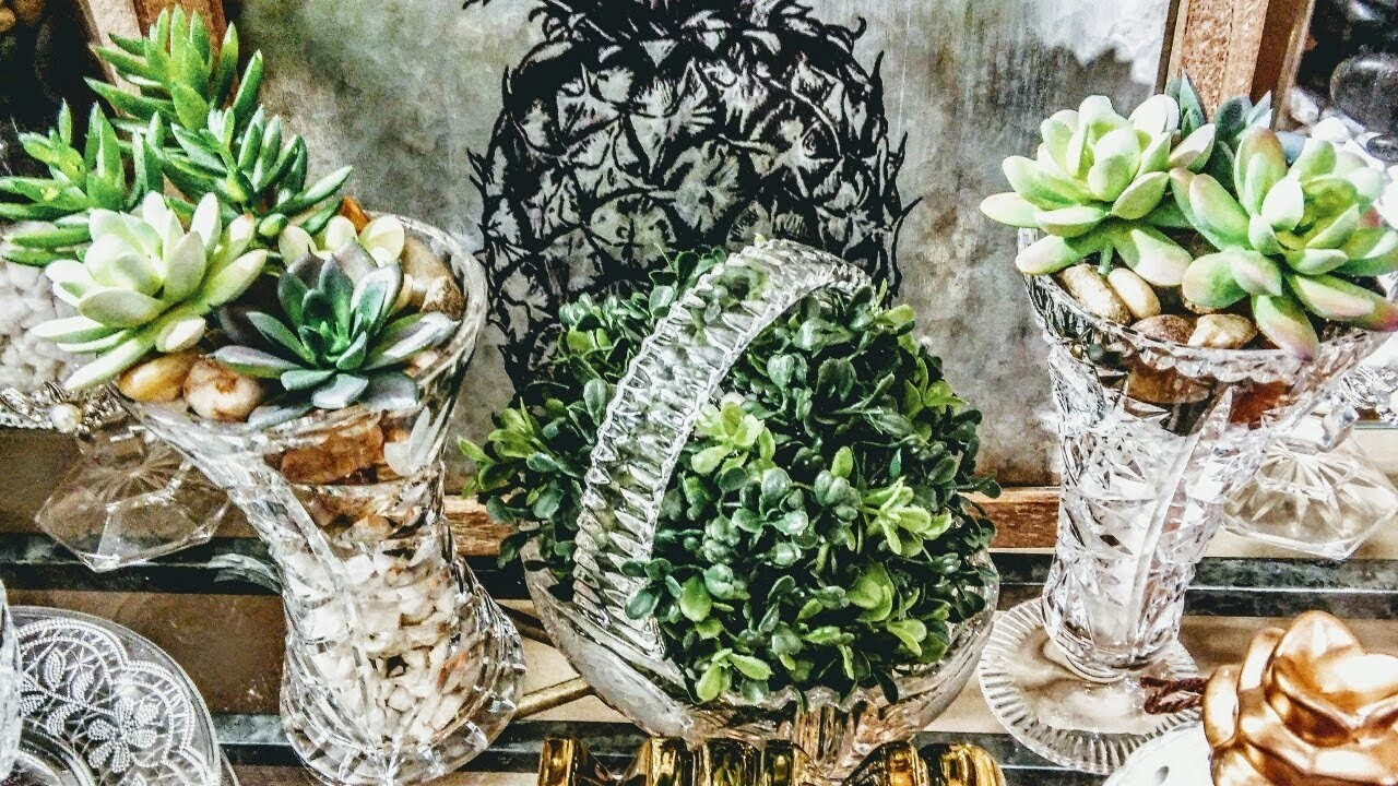 How to| DIY Fast and Elegant Spring Dollar Tree Centerpieces????| DIY Home Decor