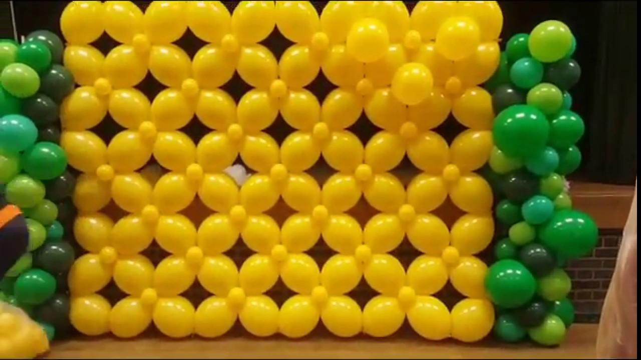 How to do a Quicklink Balloon wall.(Balloon Wall)