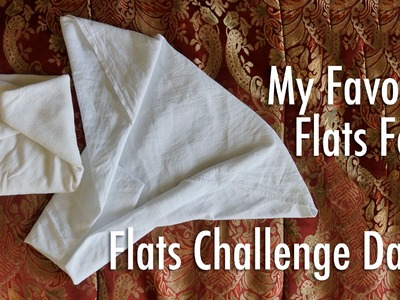 How to fold flat Cloth Diapers! Flats and Handwashing Challenge: Day 5