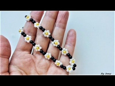 How to make a beaded bracelet, beginners tutorial