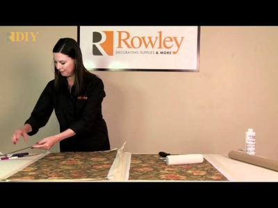 How-To make a Laminated Roller Shade