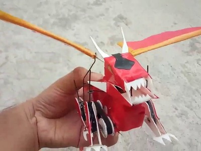 How to make a robot ( dragon)