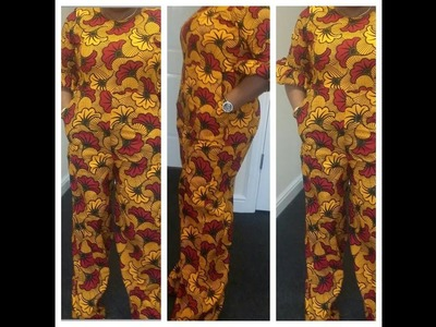 How to make Palazzo Jumpsuit (Part 2)
