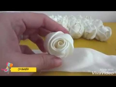 How to make Rose buds