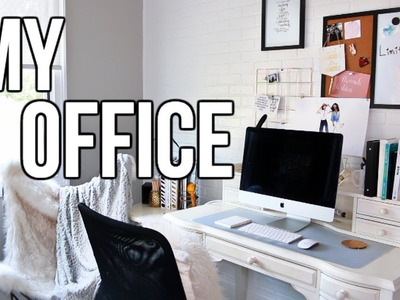 How to Organize a #BossBabe Desk & Office