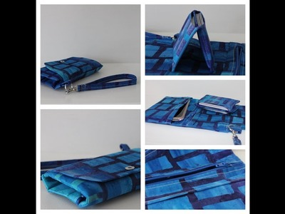 How to sew a Phone Wallet by Sewspire Sewing Tutorial