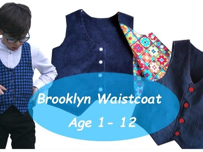 How to sew a waistcoat