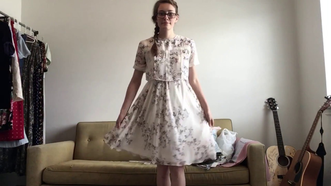 HOW TO TURN A SKIRT INTO A DRESS DIY