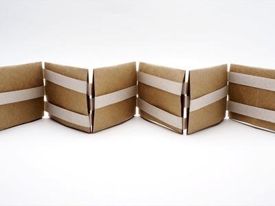 Jacobs Ladder Tutorial - Origami Squares - 2 Methods - Paper Kawaii | 300x400