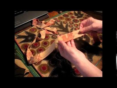 Part 2 Myrtle Doves Reproduction Vintage Wool Applique Rug Kit
