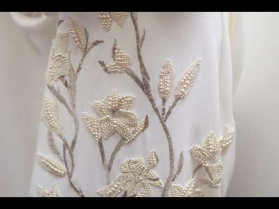 Schiaparelli Haute Couture Spring.Summer 2018 - The mother-of-pearl embroidered wedding dress