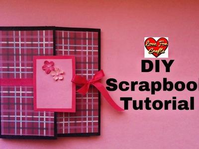 Scrapbook Tutorial | How to Make Scrapbook | DIY Scrapbook Tutorial | Scrapbook For Friend