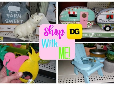SHOP WITH ME DOLLAR GENERAL!  FARMHOUSE.SPRING.SUMMER!!