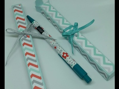 Stampin Up Pen & matching gift box *Plus 2x Giveaway*