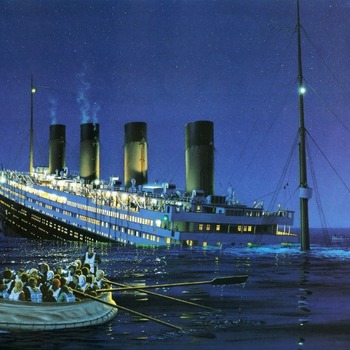 Titanic Breaking Up Cross Stitch Pattern***LOOK*** ***DOWNLOAD***