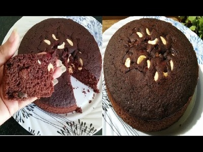 कुकर में बनाएं केक | Chocolate Cake recipe| suji cake in cooker | Rava cake | Semolina cake