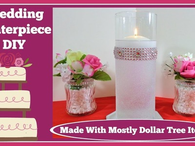 ????Wedding Centerpiece???? with Floating Candle and???? Glitter