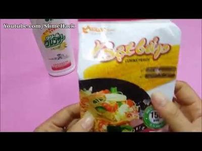 2 ingredient Slime No Glue ,Borax . .! Diy How To make Slime 2 ingredient