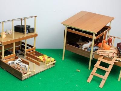 4 Easy Miniature Animal Farmhouse for Home Decor #3 | DIY & Craft ideas